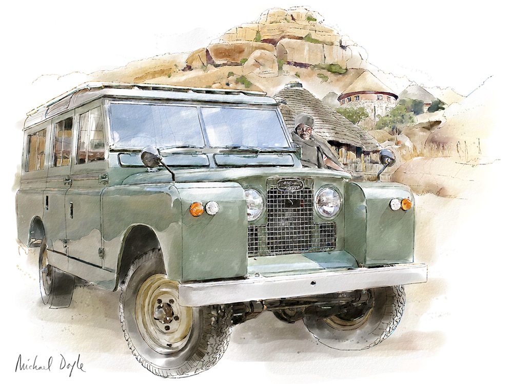 land rover series ii the taming of the wild. Black Bedroom Furniture Sets. Home Design Ideas